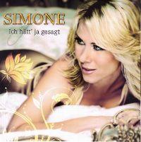 Cover Simone - Ich hätt' ja gesagt