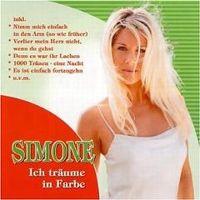 Cover Simone - Ich träume in Farbe