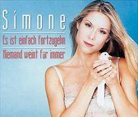 Cover Simone - Niemand weint für immer