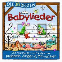 Cover Simone Sommerland, Karsten Glück & die Kita-Frösche - Die 30 besten Babylieder