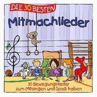 Cover Simone Sommerland, Karsten Glück & die Kita-Frösche - Die 30 besten Mitmachlieder