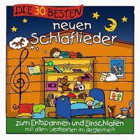 Cover Simone Sommerland, Karsten Glück & die Kita-Frösche - Die 30 besten neuen Schlaflieder zum Entspannen und Einschlafen