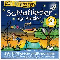 Cover Simone Sommerland, Karsten Glück & die Kita-Frösche - Die 30 besten Schlaflieder für Kinder 2