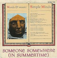 Cover Simple Minds - Someone Somewhere (In Summertime)