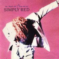 Cover Simply Red - A New Flame