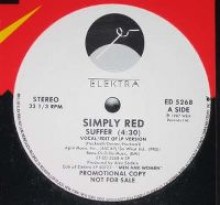 Cover Simply Red - Suffer