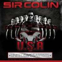 Cover Sir Colin - U.S.A. - United Swiss Artists