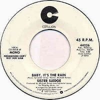 Cover Sister Sledge - Baby It's The Rain