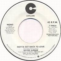 Cover Sister Sledge - Gotta Get Back To Love