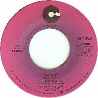 Cover Sister Sledge - My Guy / Canadian Sunset