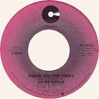 Cover Sister Sledge - Thank You For Today