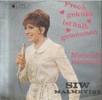 Cover Siw Malmkvist - Frech geküßt ist halb gewonnen