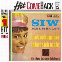 Cover Siw Malmkvist - Liebeskummer lohnt sich nicht