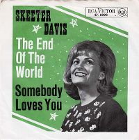 Cover Skeeter Davis - The End Of The World