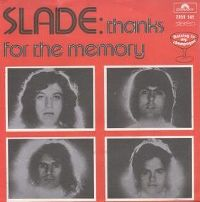 Cover Slade - Thanks For The Memory (Wham Bam Thank You Mam)
