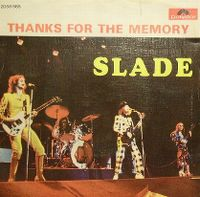 Cover Slade - Thanks For The Memory