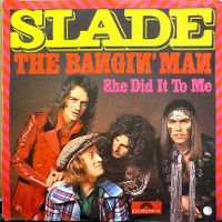 Cover Slade - The Bangin' Man