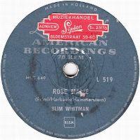 Cover Slim Whitman - Rose Marie