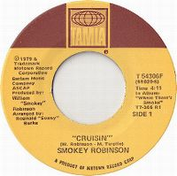 Cover Smokey Robinson - Cruisin'
