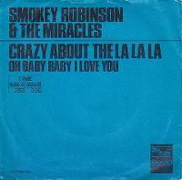 Cover Smokey Robinson & The Miracles - Crazy About The La La La