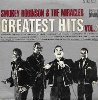 Cover Smokey Robinson & The Miracles - Greatest Hits Vol. 2
