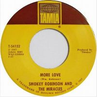 Cover Smokey Robinson & The Miracles - More Love
