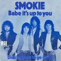 Cover Smokie - Babe It's Up To You