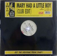 Cover Snap! - Mary Had A Little Boy