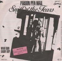 Cover Sniff 'n' The Tears - Poison Pen Mail