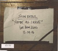 Cover Snow Patrol - You're All I Have (Live From Koko 12.04.06)
