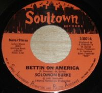 Cover Solomon Burke - Bettin On America