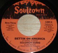 Cover Solomon Burke - Bettin On America
