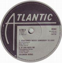 Cover Solomon Burke - Everybody Needs Somebody To Love