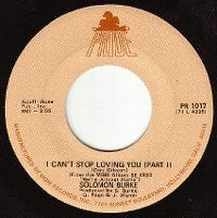 Cover Solomon Burke - I Can't Stop Loving You
