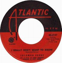 Cover Solomon Burke - I Really Don't Want To Know