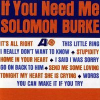 Cover Solomon Burke - If You Need Me