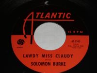 Cover Solomon Burke - Lawdy Miss Claudy