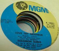 Cover Solomon Burke - Love Thy Neighbor