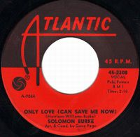 Cover Solomon Burke - Only Love (Can Save Me Now)