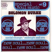 Cover Solomon Burke - Social Change