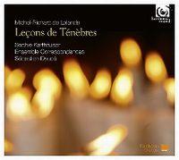 Cover Sophie Karthäuser / Ensemble Correspondances / Sébastien Daucé - Michel-Richard de Lalande: Leçons de Ténèbres
