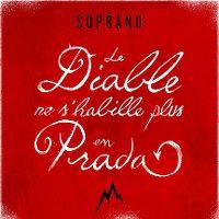 Cover Soprano - Le diable ne s'habille plus en Prada