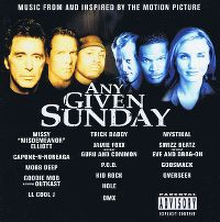Cover Soundtrack - Any Given Sunday