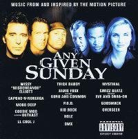 Cover Soundtrack - Any Given Sunday