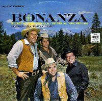 Cover Soundtrack - Bonanza (The Original Cast) - Ponderosa Party Time