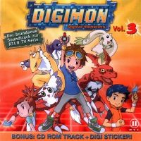 Cover Soundtrack - Digimon Vol. 3 - TV-Soundtrack