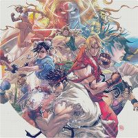 Cover Soundtrack - Street Fighter III - Collection