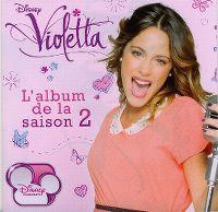 Cover Soundtrack - Violetta - L'album de la saison 2