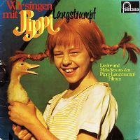 Cover Soundtrack - Wir singen mit Pippi Langstrumpf