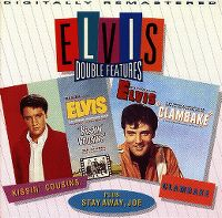 Cover Soundtrack / Elvis Presley - Kissin' Cousins / Clambake / Stay Away, Joe